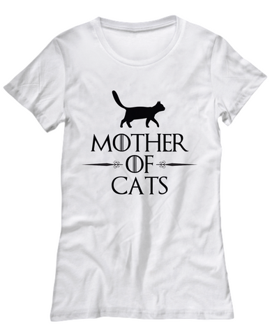 Image of Mother Of Cats Women's Tee (Nine Yards Exclusive)