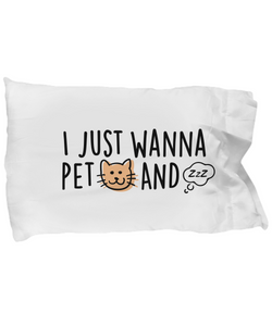Pet Cats And Nap (Pillowcase - Nine Yards Exclusive)