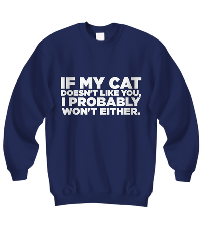 Image of My Cat Doesn't Like You (Nine Yards Exclusive)