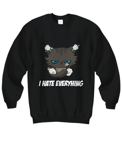 I Hate Everything Sweatshirt (Nine Yards Exclusive)