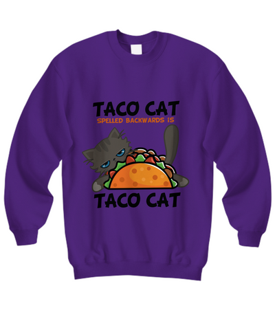 Image of Taco Cat II Sweatshirt (Nine Yards Exclusive)