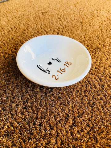 Image of Customizable Ring Dish