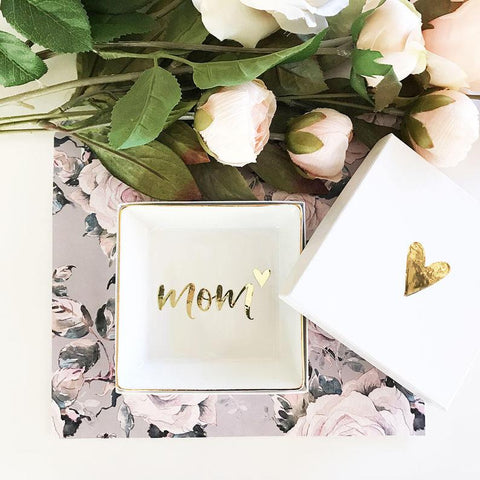 Lovely Mom Ring Dish