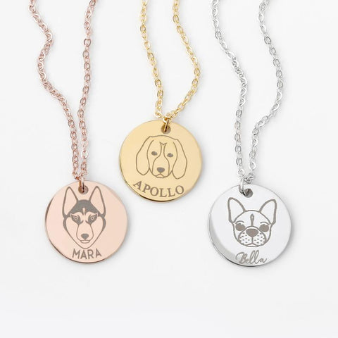 Image of Customized Dog Necklace