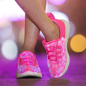 Stylish LED Sneakers
