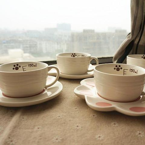 Paw-some Teacup Set