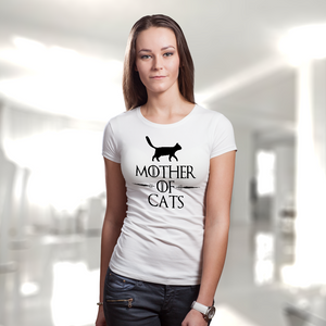 Mother Of Cats Women's Tee (Nine Yards Exclusive)