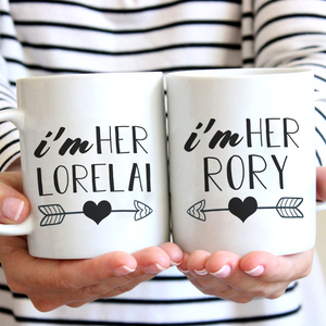 Rory and Lorelai Mugs (Nine Yards Exclusive)