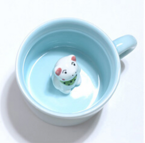 Image of 3D Animal Ceramic Mug