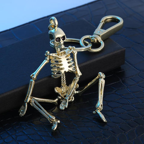 Image of Quirky Skeleton Keychain
