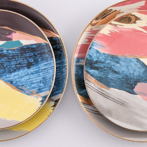 Abstract Art Dinner Ware