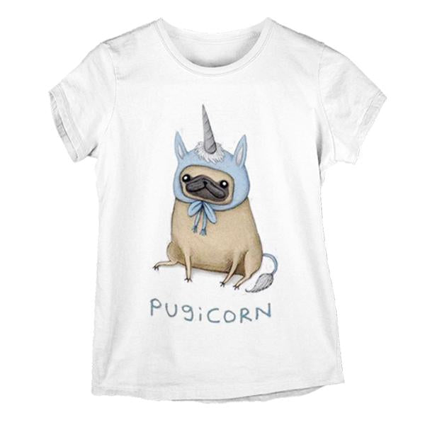 Adorable Pugicorn T-Shirt