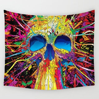Image of Punk Themed Tapestry