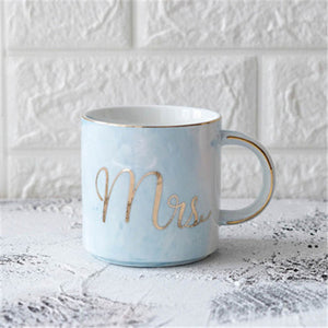 Luxury Watercolor Couple Mugs
