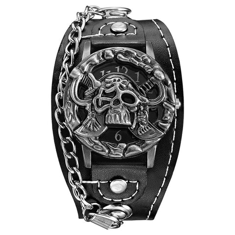 Image of Novelty Pirate Leather Watch