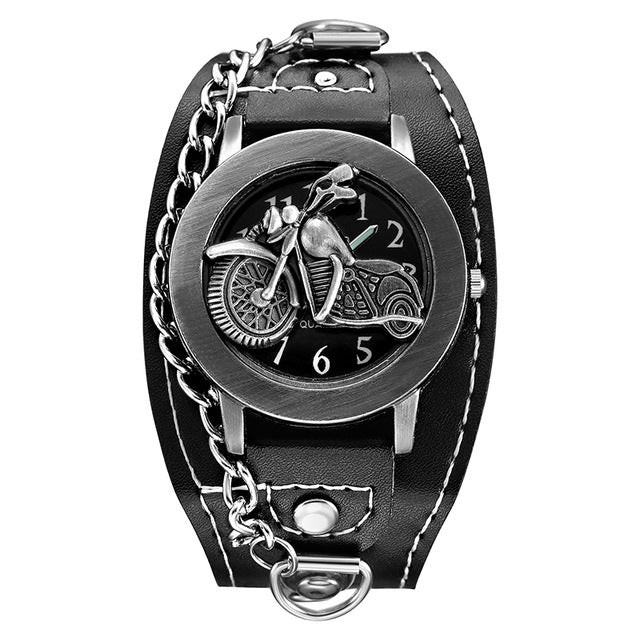 Punk Biker Watch
