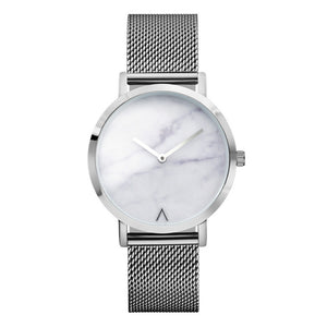 Minimalist Marble Fashion Watch