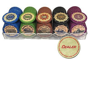 Matte Poker Chips Set