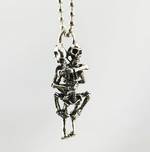 Skeleton Infinity Love Necklace