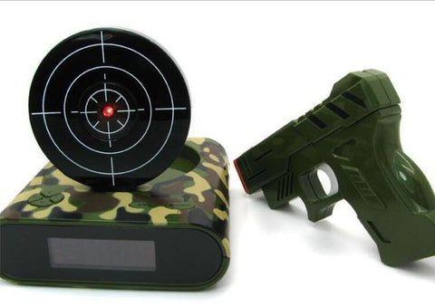 Image of Shooting Target Alarm Clock