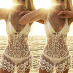 Lacy Bikini Cover Up