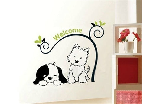 Adorable Welcome Wall Sticker