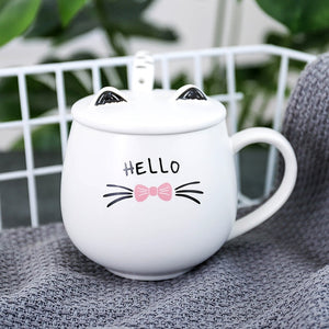 Modern Kitty Tea Cup