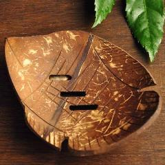 Natural Coconut Shell Soap Dish