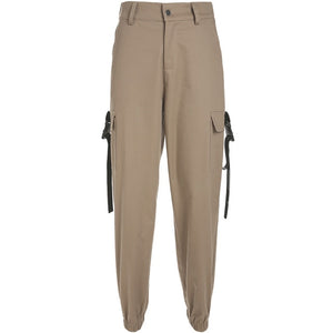 Chic High Waist Cargo Pants