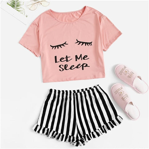 "Image of ""Let Me Sleep"" Comfy Pajama Set"