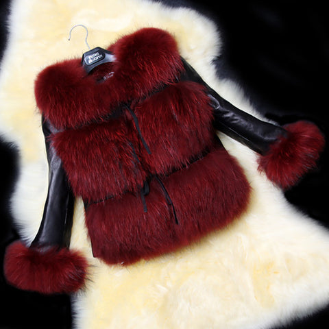 Image of Trendy Faux Fur Outerwear