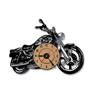 Retro LED Bike Wall Clock