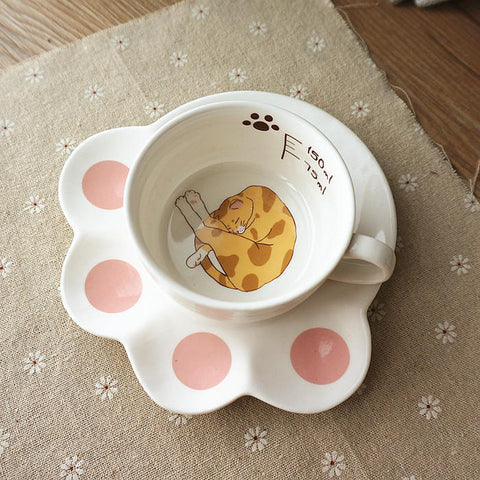 Image of Paw-some Teacup Set