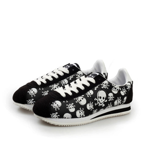 Image of Casual Skull Sneakers