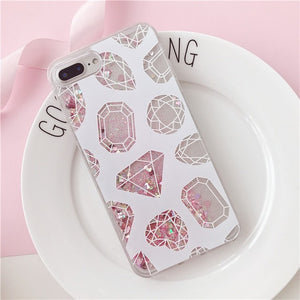 Charming Quicksand Phone Case