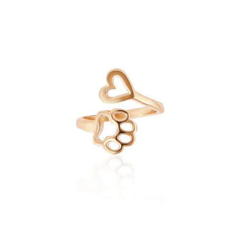 Image of Paw Love Wrap Ring