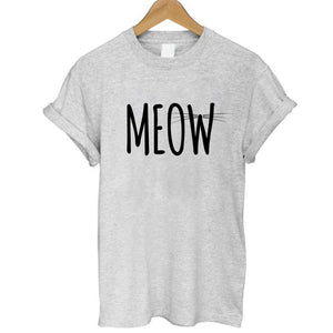 Casual Meow T-Shirt