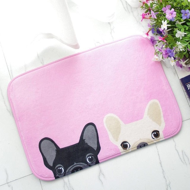 Frenchie Floor Mat