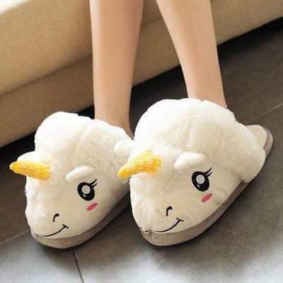Unicorn Home Slip-Ons