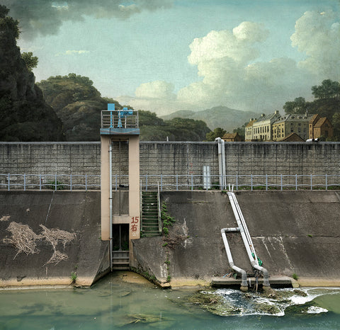 UL #19 : William Marlow (View of Matlock Bath – 1780)