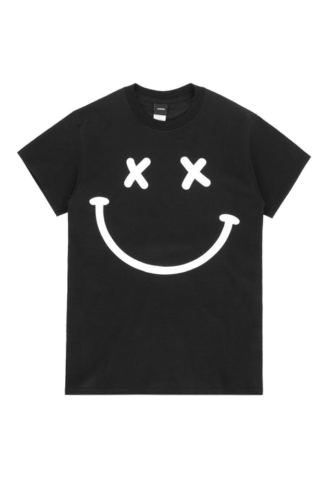 Acid House Smile T-Shirt black