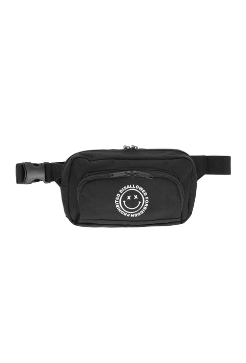 Acid House Waist Bag black
