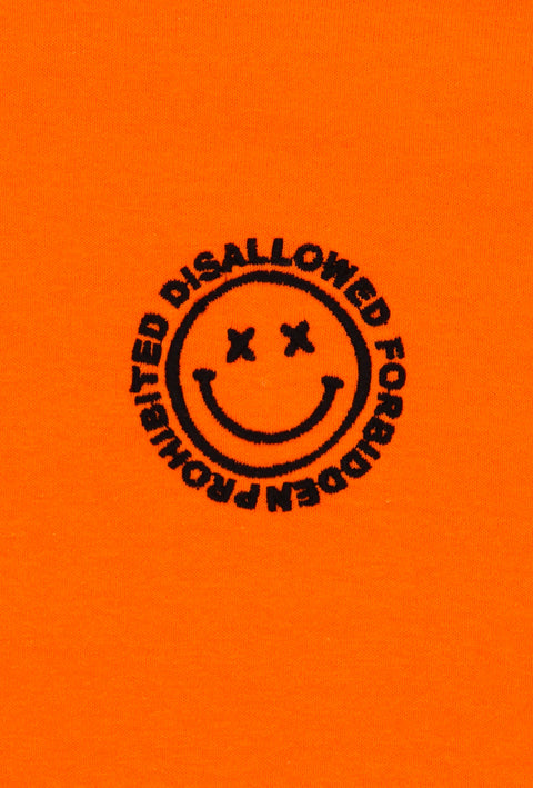 Acid House Neon T-Shirt Orange