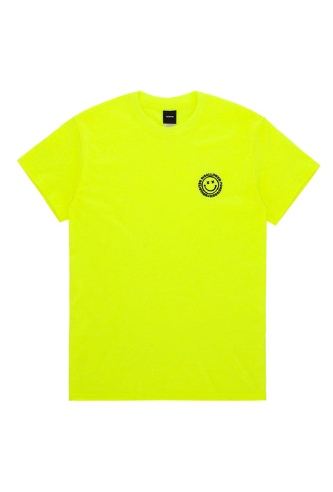 Acid House Neon T-Shirt Yellow