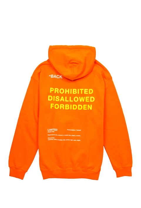 Limited Neon Orange Sweatshirt