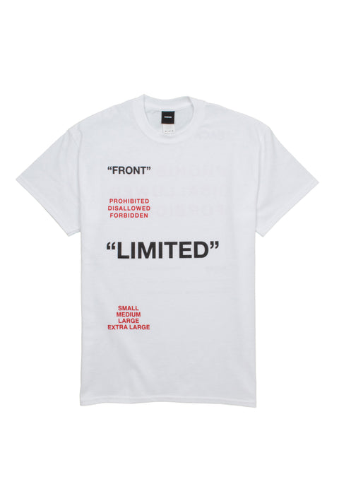 Limited White tee