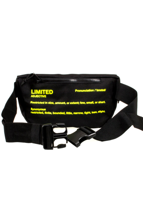 Limited Waist Bag black