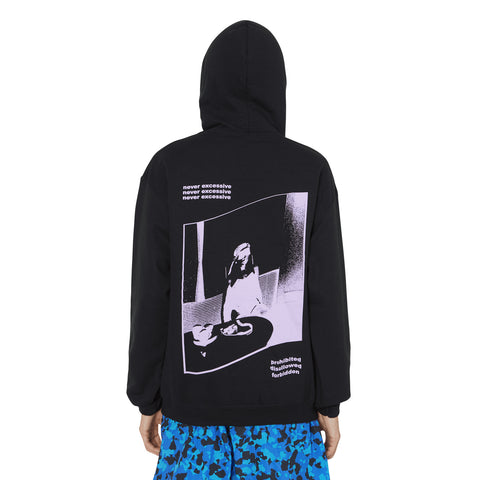 Decadence Hooded Sweatshirt Black