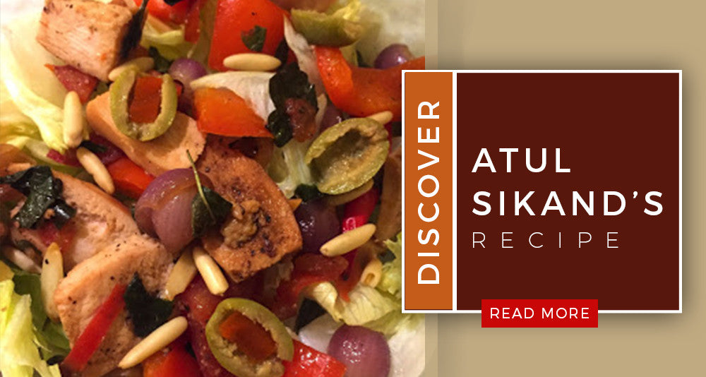 Atul Sikand's Smoked Chicken Salad