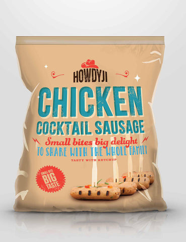 Howdyji - Chicken Cocktail Sausage (400g) - Lion Fresh